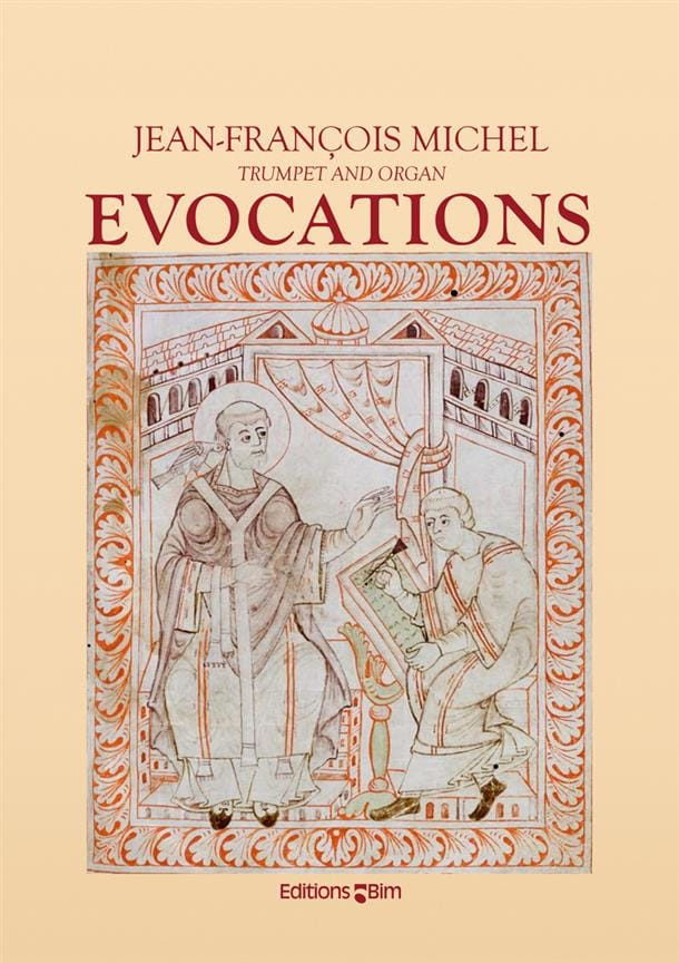 Jean-François Michel - Evocations - Partition - di-arezzo.com