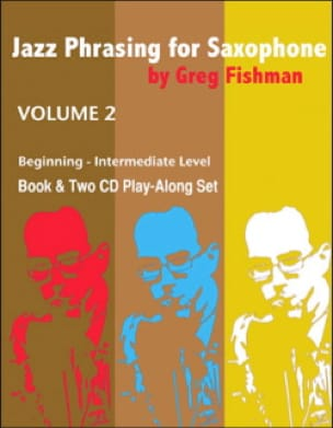 METHODE AEBERSOLD - Jazz Phrasing for Saxophone - Volume 2 with 2 CDs - Partition - di-arezzo.co.uk