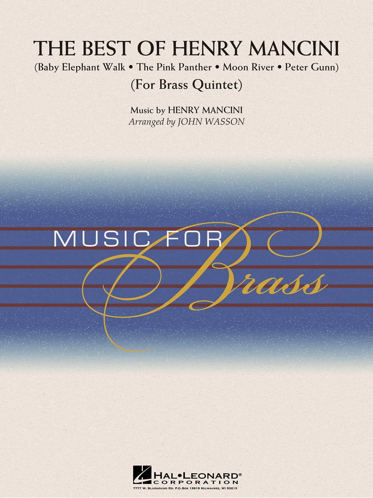 The Best of Henry Mancini - MANCINI - Partition - laflutedepan.com
