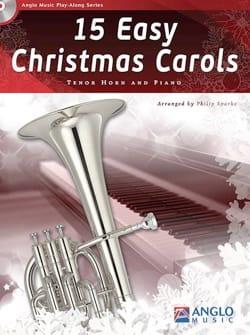 15 Easy Christmas Carols - Noël - Partition - Cor - laflutedepan.com