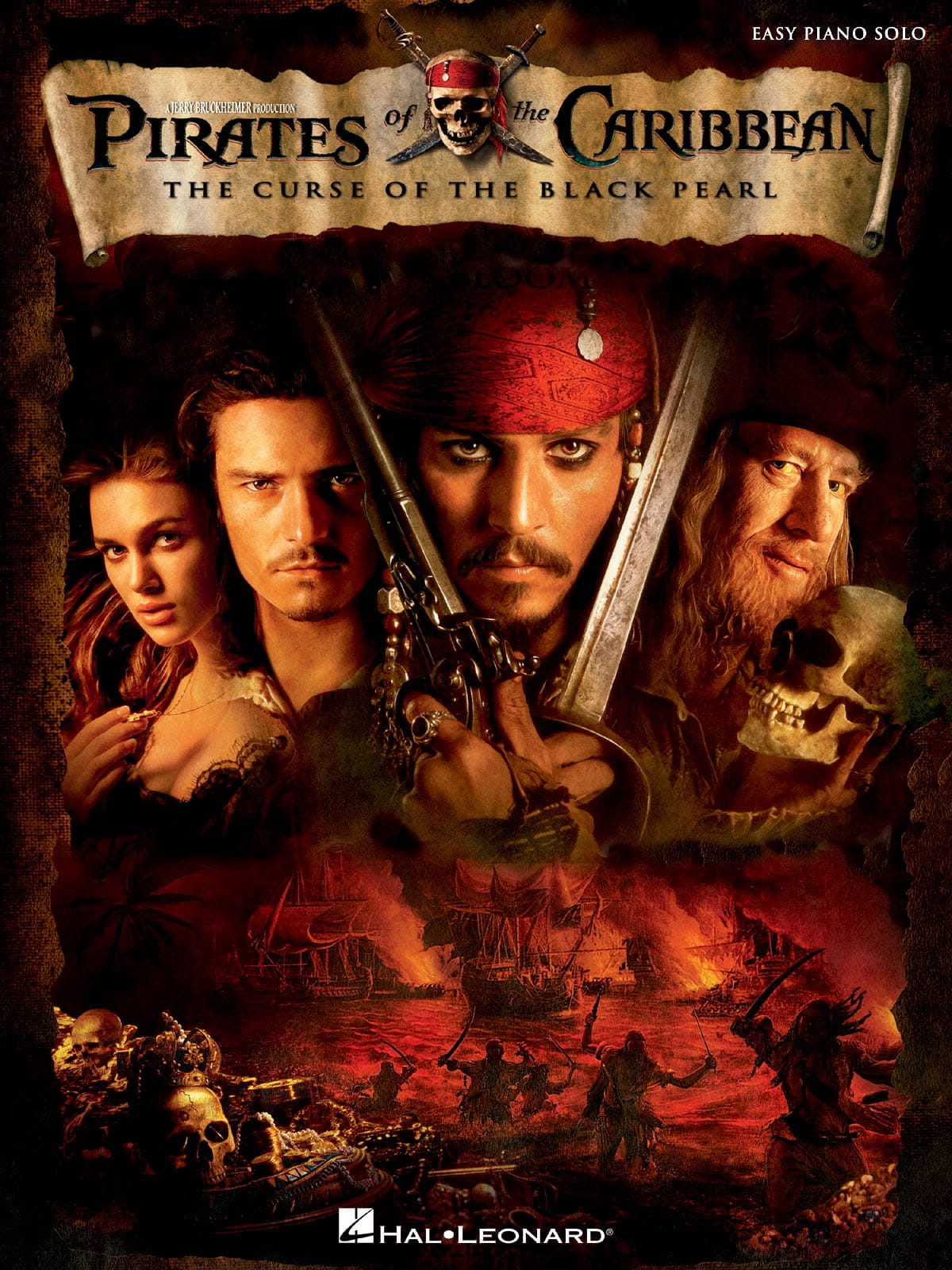 Klaus Badelt - Pirates of the Caribbean 1 - The Curse of the Black Pearl, Easy Piano - Partition - di-arezzo.co.uk