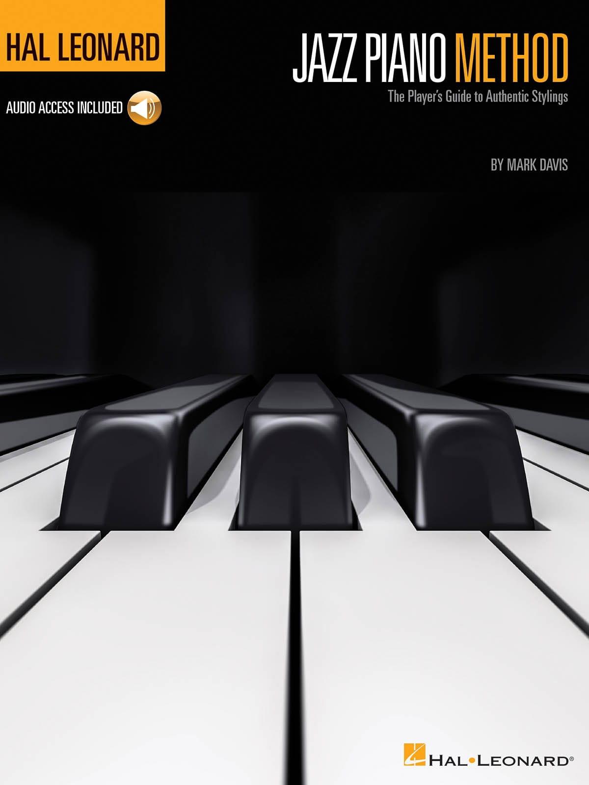 Mark Davis - Hal Leonard Jazz Piano Method - Partition - di-arezzo.co.uk