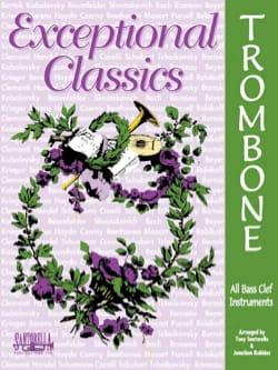 Exceptional Classics Trombone - Partition - laflutedepan.com