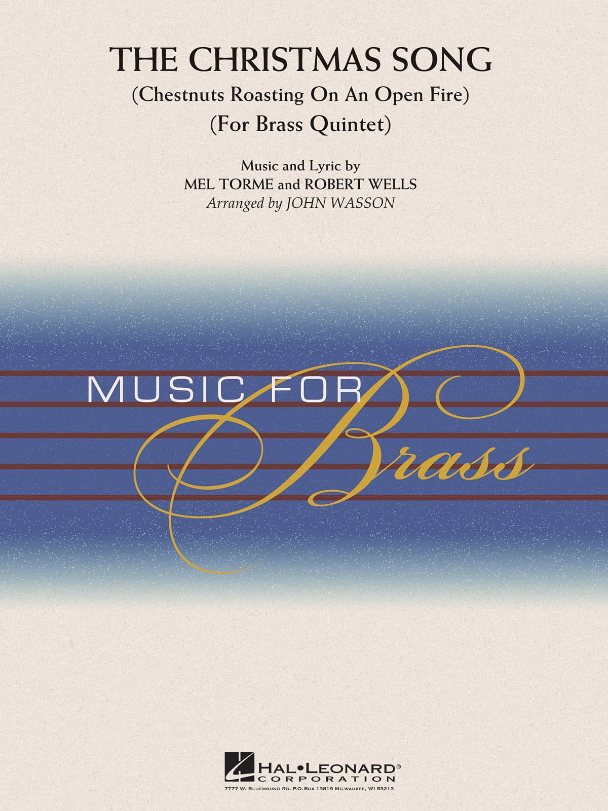 The Christmas Song for Brass Quintet - laflutedepan.com