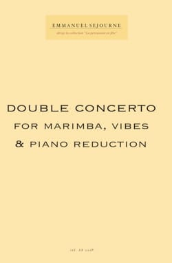 Emmanuel Séjourné - Double Concerto reduc piano - Partition - di-arezzo.com