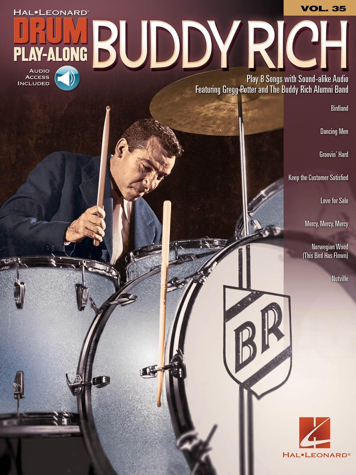Drum Play-Along Volume 35 Buddy Rich - Buddy Rich - laflutedepan.com