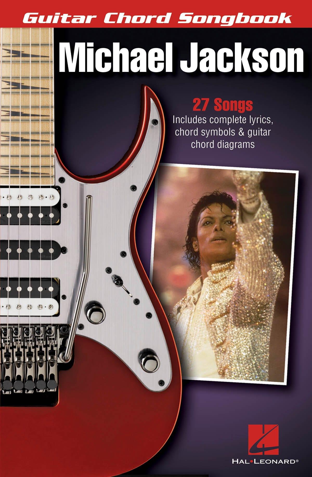 Michael Jackson - Guitar Chord Songbook - laflutedepan.com