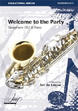Welcome to the Party - Leeuw Jan de - Partition - laflutedepan.com