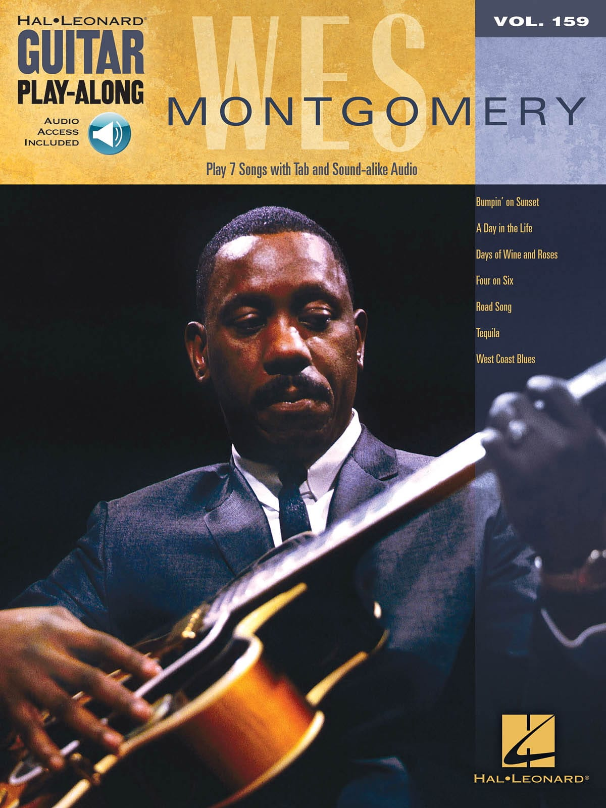 Wes Montgomery - Guitarra Play-Along Volume 159 Wes Montgomery - Partition - di-arezzo.es