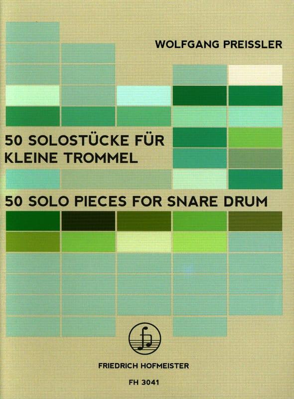 50 Solo Pieces for Snare Drum - Wolfgang Preissler - laflutedepan.com