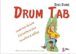 Drum Tab - Denis Dionne - Partition - Batterie - laflutedepan.com