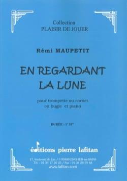 En Regardant la Lune - Rémi Maupetit - Partition - laflutedepan.com