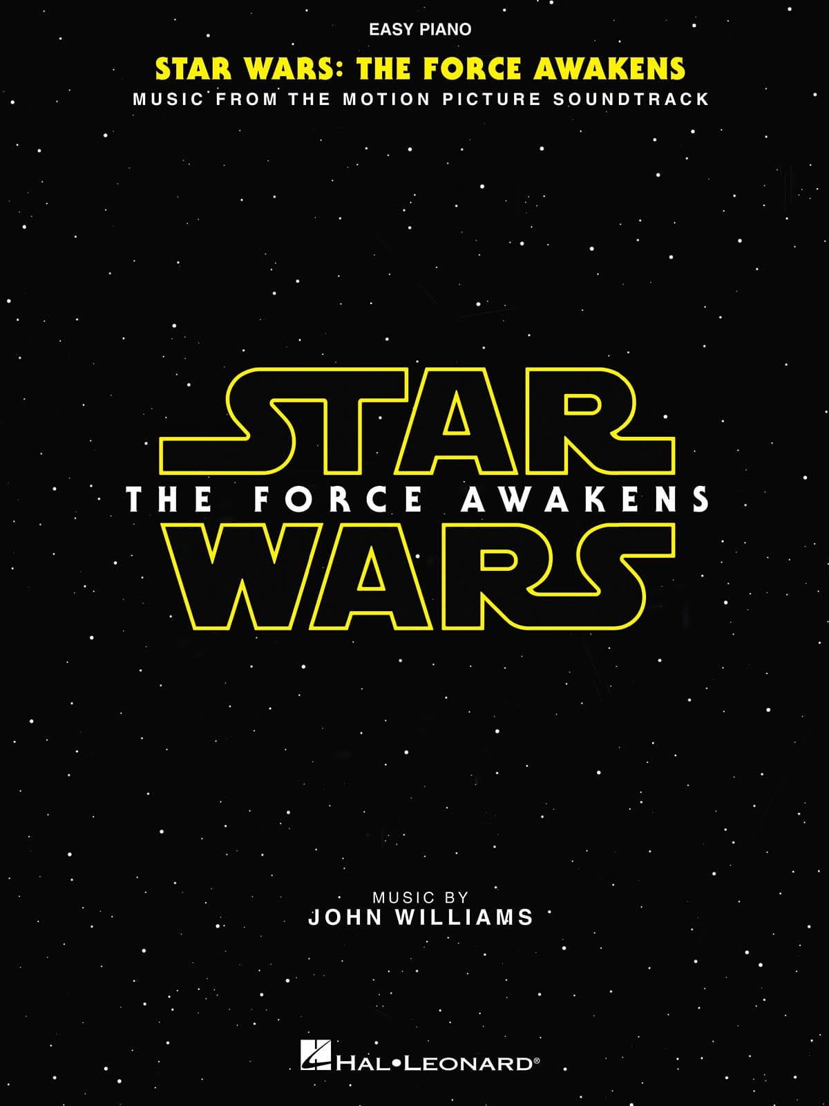 John Williams - Star Wars: Episodio VII - The Force Awakens Easy Piano - Partition - di-arezzo.it
