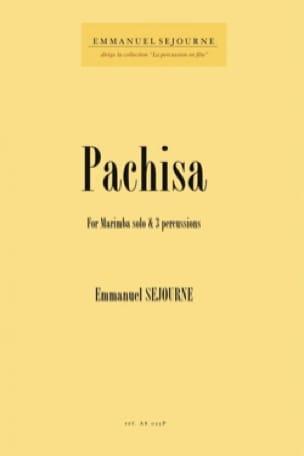 Pachisa - Emmanuel Séjourné - Partition - laflutedepan.com