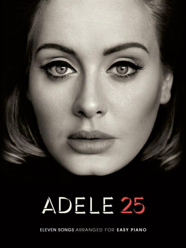 Adele - 25 - Easy Piano - Partition - di-arezzo.com