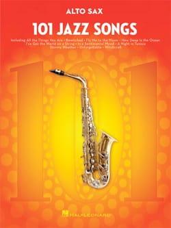 101 Jazz Songs for Alto Sax - Partition - laflutedepan.com