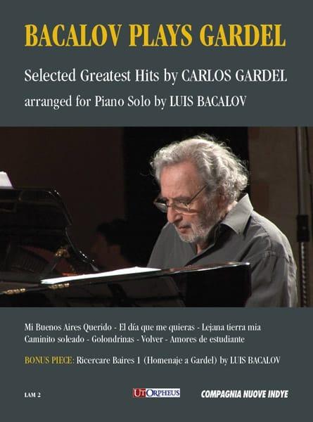 Carlos Gardel - Bacalov juega Gardel - Partition - di-arezzo.es