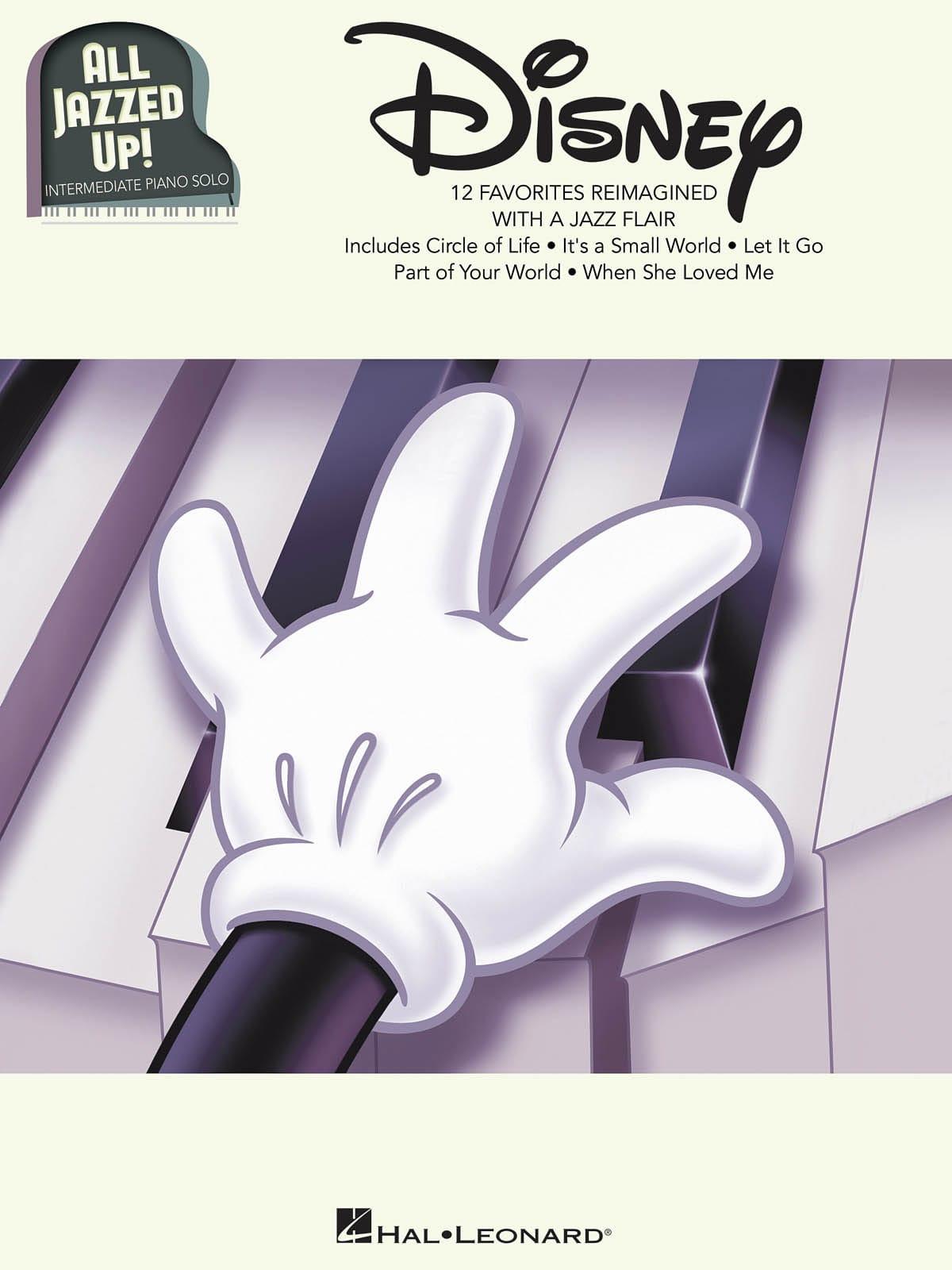 Disney - All Jazzed Up! - DISNEY - Partition - laflutedepan.com
