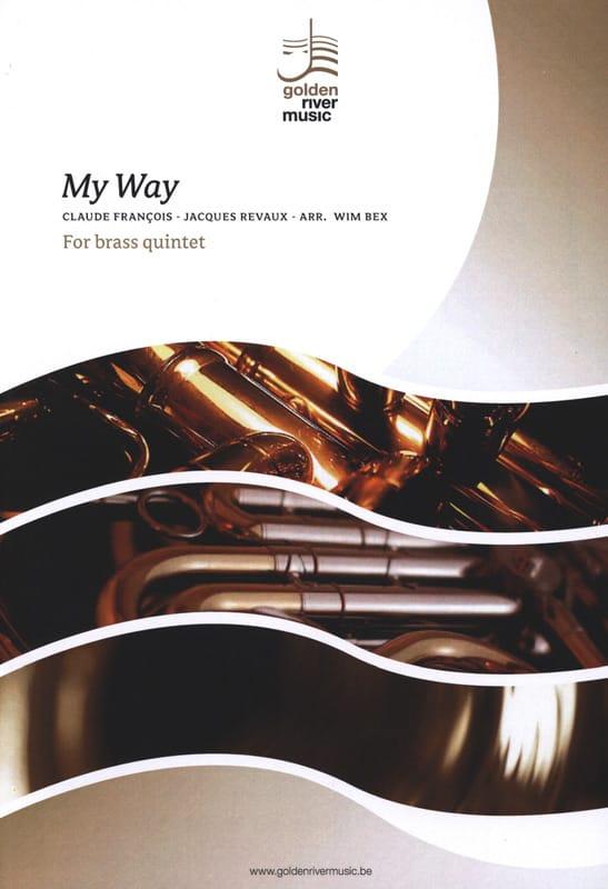 Comme d'Habitude / My Way - Brass Quintet - laflutedepan.com