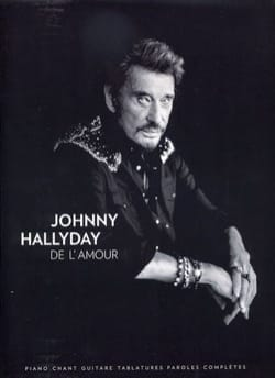Johnny Hallyday - Del amor - Partition - di-arezzo.es