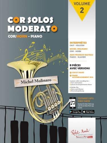 - Cor Solos Moderato - Volume 2 - Partition - di-arezzo.co.uk