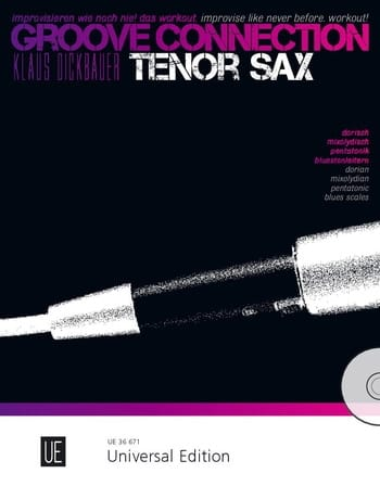 Groove Connection - Saxophone Ténor vec CD - laflutedepan.com
