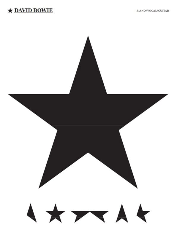 David Bowie - Blackstar - Partition - di-arezzo.com
