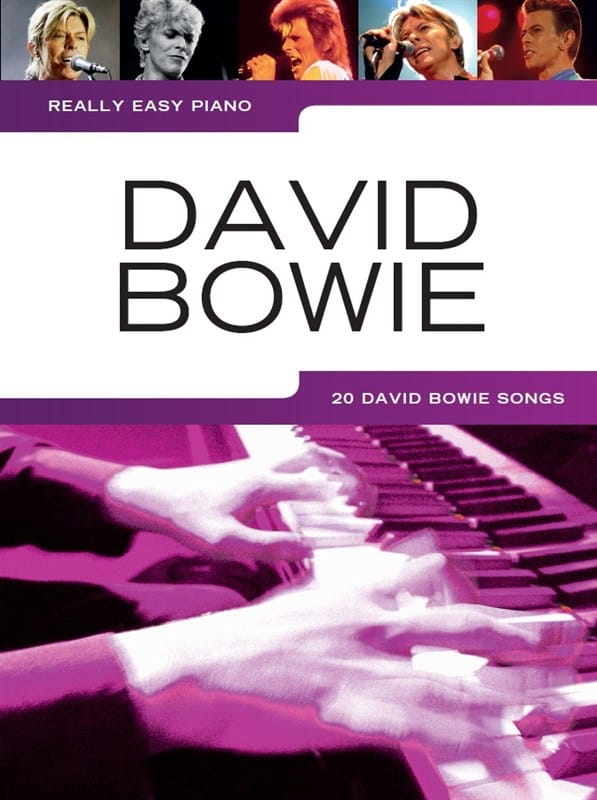 Really Easy Piano - David Bowie - David Bowie - laflutedepan.com