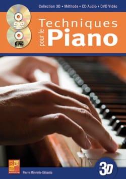 Pierre Minvielle-Sebastia - Techniques for the piano in 3D - Partition - di-arezzo.co.uk