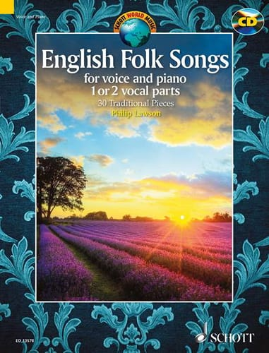 Traditionnel - English Folk Songs - Partition - di-arezzo.co.uk