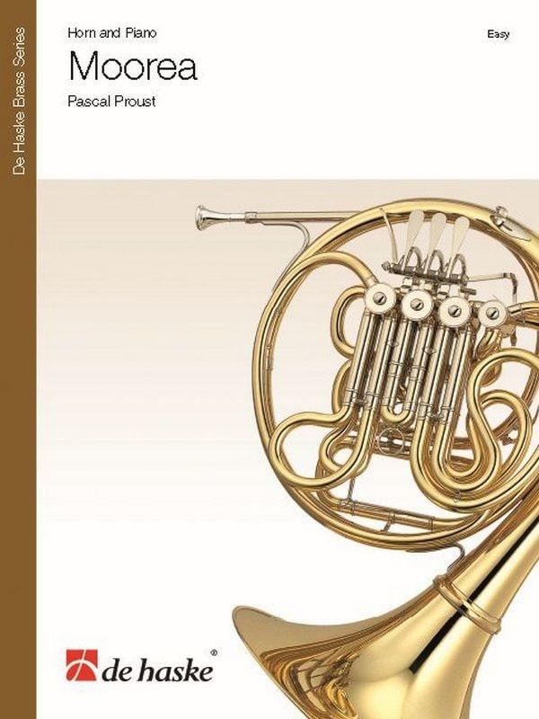 Moorea - Pascal Proust - Partition - Cor - laflutedepan.com