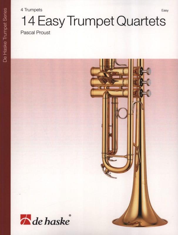 Pascal Proust - 14 cuartetos de trompeta fácil - Partition - di-arezzo.es