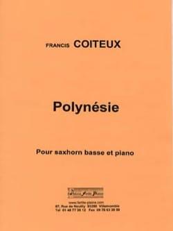 Polynésie - Francis Coiteux - Partition - Tuba - laflutedepan.com