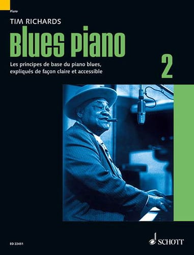 Tim Richards - Blues Piano 2 - French Edition - Partition - di-arezzo.com