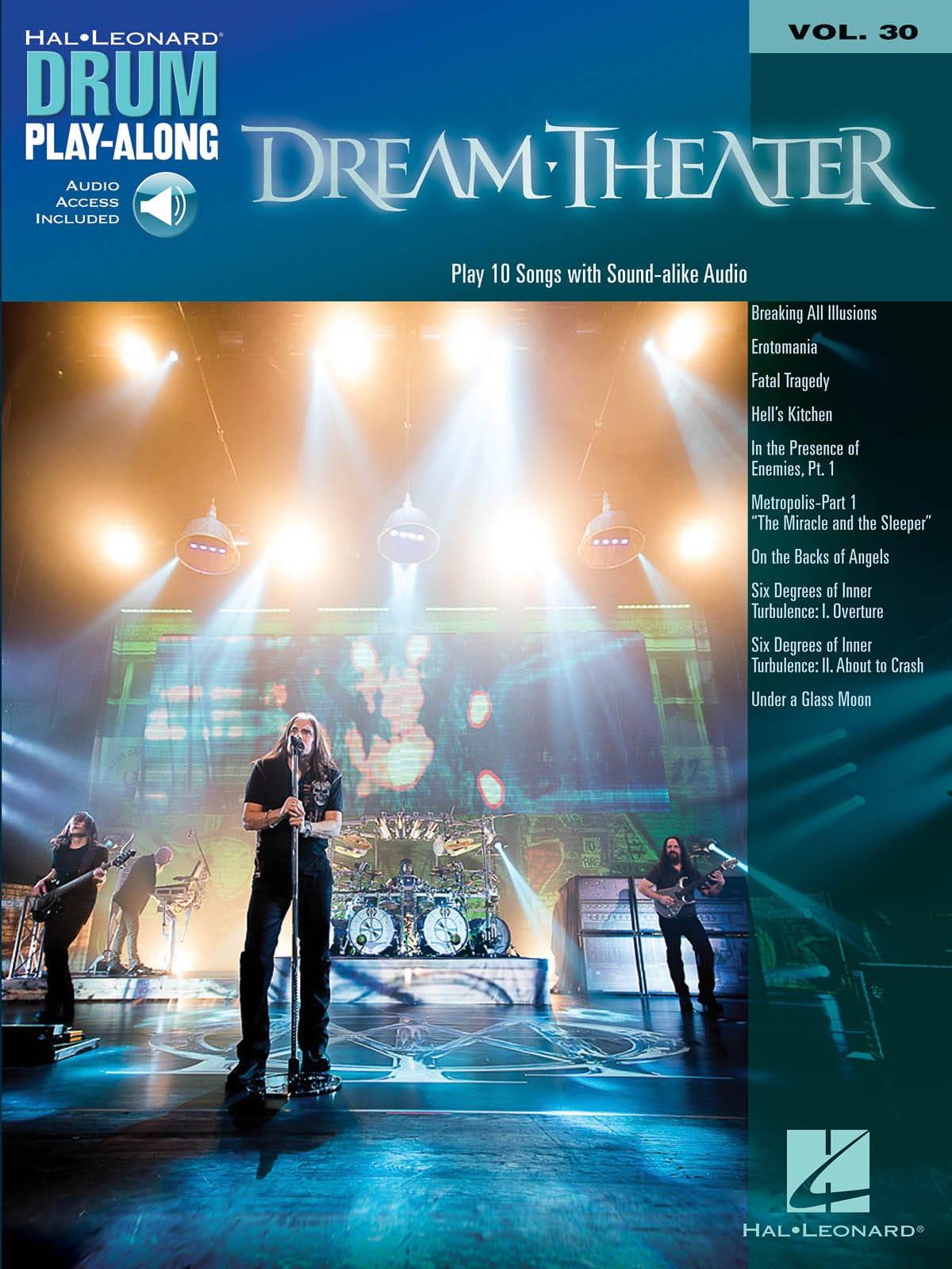 Drum Play-Along Volume 30 - Dream Theater - laflutedepan.com