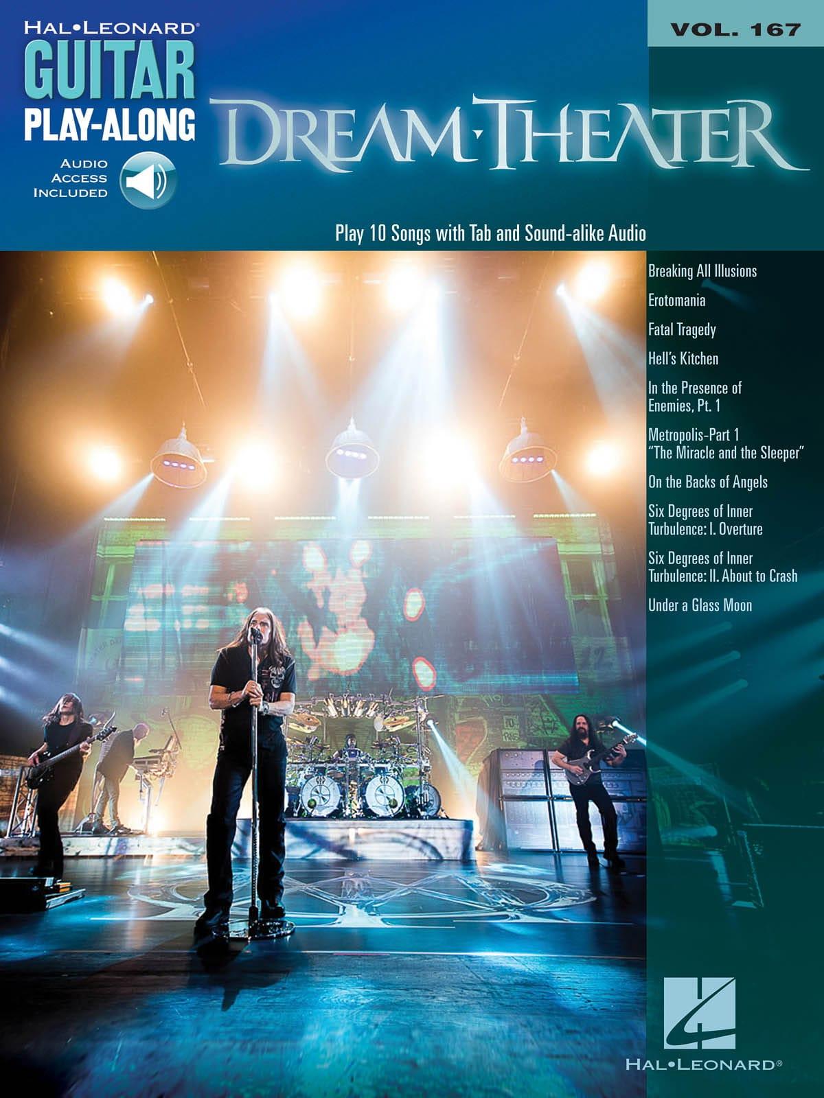 Dream Theater - Guitar Play-Along Volume 167 - Partition - di-arezzo.co.uk