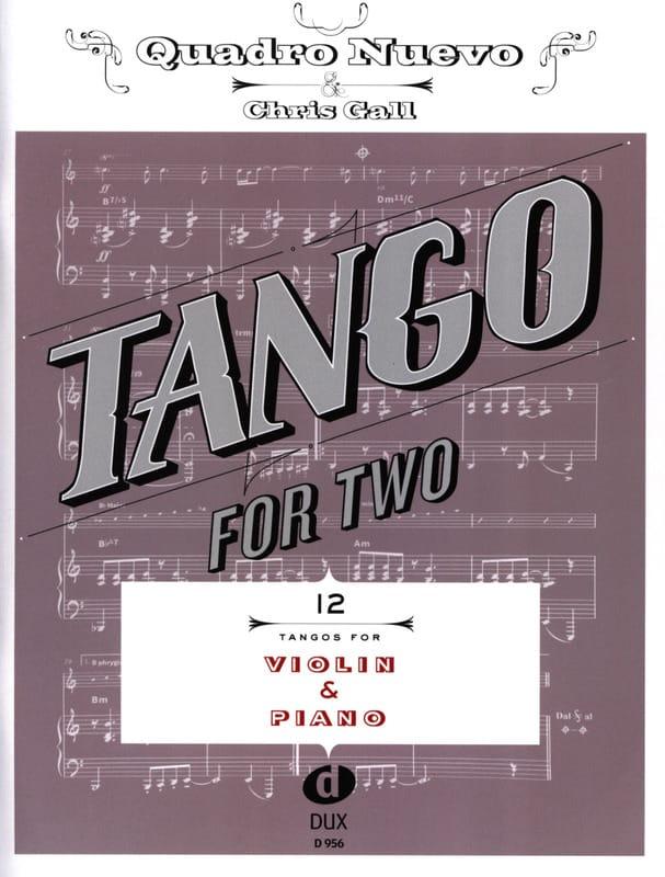Tango For Two - Violon & Piano - Partition - laflutedepan.com