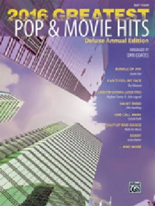 2016 Greatest Pop & Movie Hits - Easy Piano - laflutedepan.com