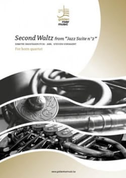 Second Waltz from Jazz Suite n°2 - Quatuor de Cors - laflutedepan.com