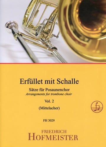 Erfüllet Mit Schalle - Volume 2 - Partition - laflutedepan.com