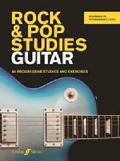 Rock & Pop Studies Guitar - Tom Fleming - Partition - laflutedepan.com
