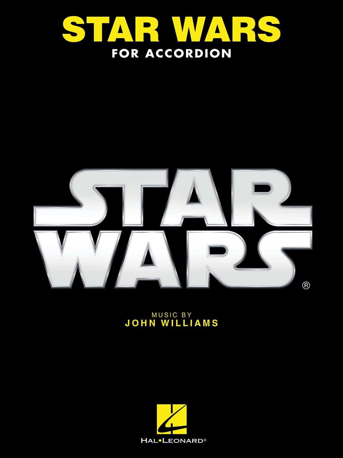 Star Wars for Accordion - John Williams - Partition - laflutedepan.com
