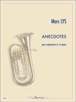 Anecdotes - Marc Lys - Partition - Tuba - laflutedepan.com