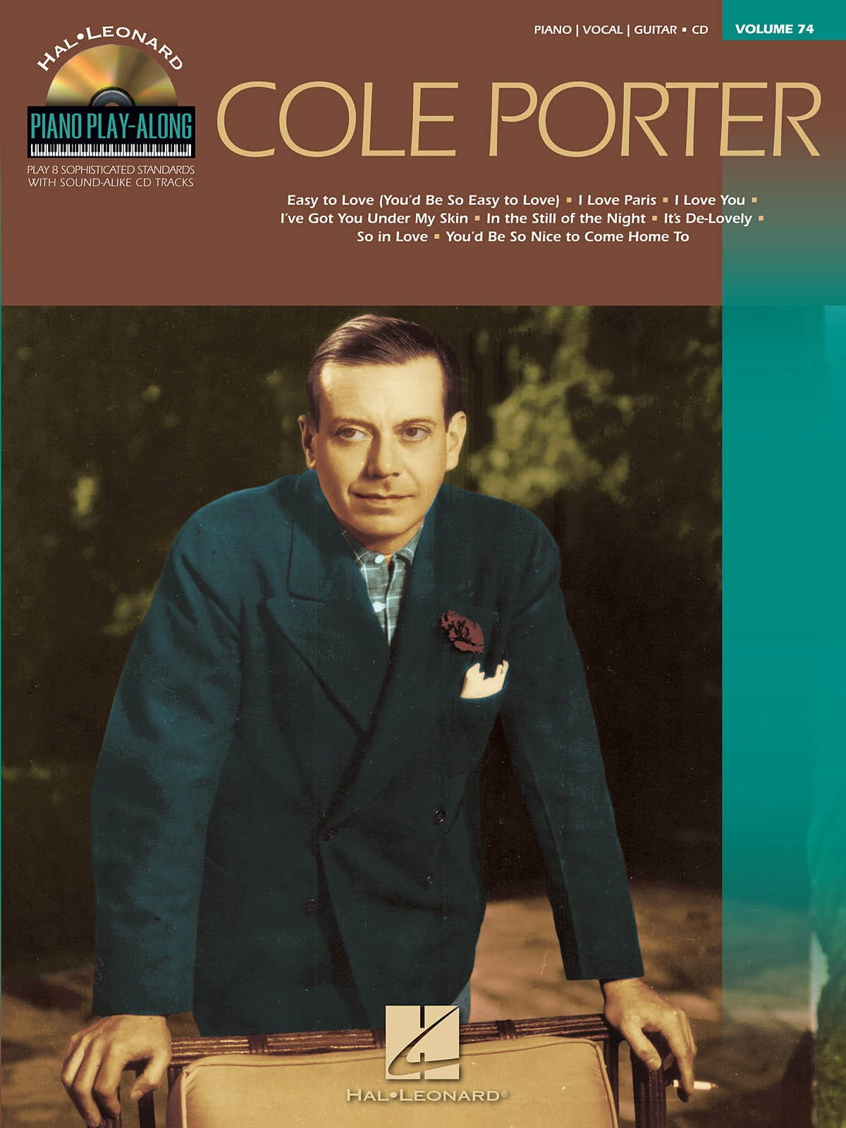 Cole Porter - Piano Play-Along Volume 74 - Cole Porter - Partition - di-arezzo.co.uk