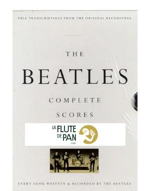The Beatles Complete Score - Box Edition - BEATLES - laflutedepan com