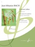Concerto Italien BWV 971 BACH Partition Saxophone - laflutedepan.com