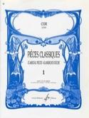 Pièces Classiques Volume 1 Partition Cor - laflutedepan.com