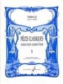 Pièces Classiques Volume 1 Partition Timbales - laflutedepan.com