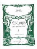 Pièces Classiques Volume 2 Partition Timbales - laflutedepan.com