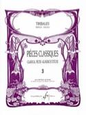 Pièces Classiques Volume 3 Partition Timbales - laflutedepan.com